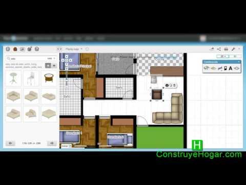 Aplicaciones online para hacer planos de casas gratis