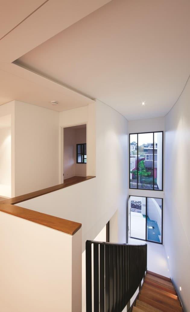 Diseo de moderna casa de dos pisos de hormign incluye interior  Construye Hogar