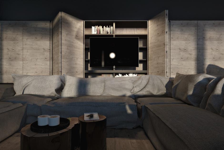 Diseo industrial de una casa decoracin de interiores