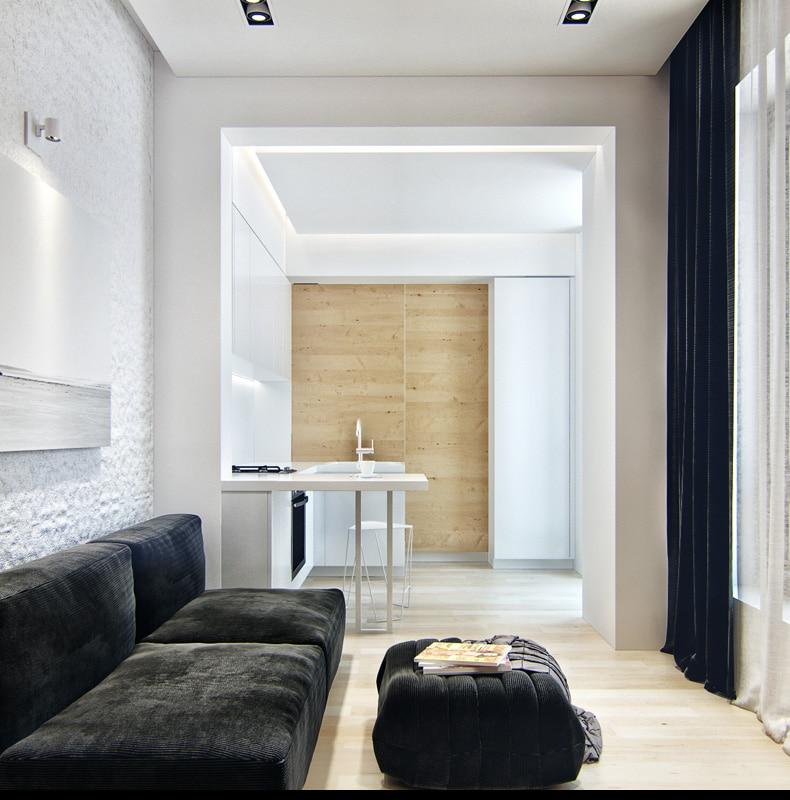 Diseo de pequeo apartamento planos y decoracin interior