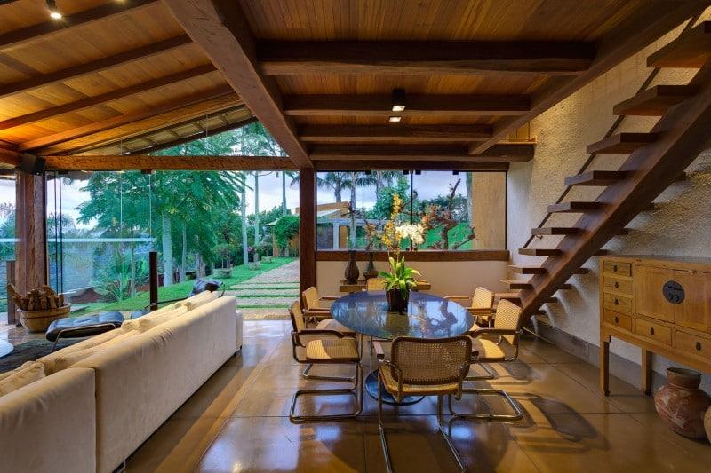 Diseo de casa de campo  planos interior y fachadas
