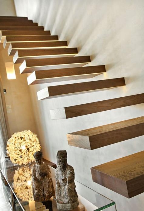 Decoracin de interiores rstico y moderno combina diseo