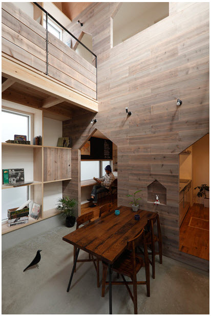 Planos de casa de dos pisos con fachada y diseo interior