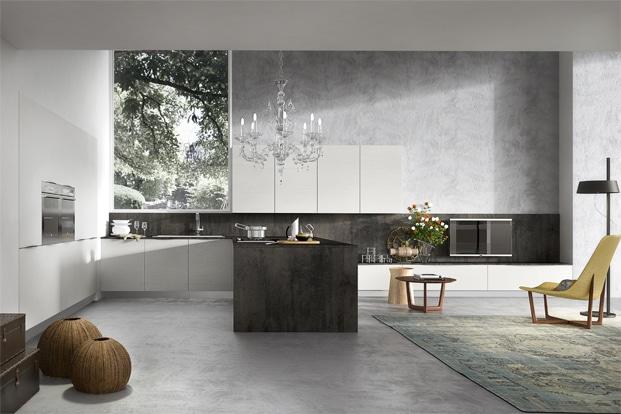 Diseo de cocinas elegantes combina lneas simples en muebles y colores neutros  Construye Hogar