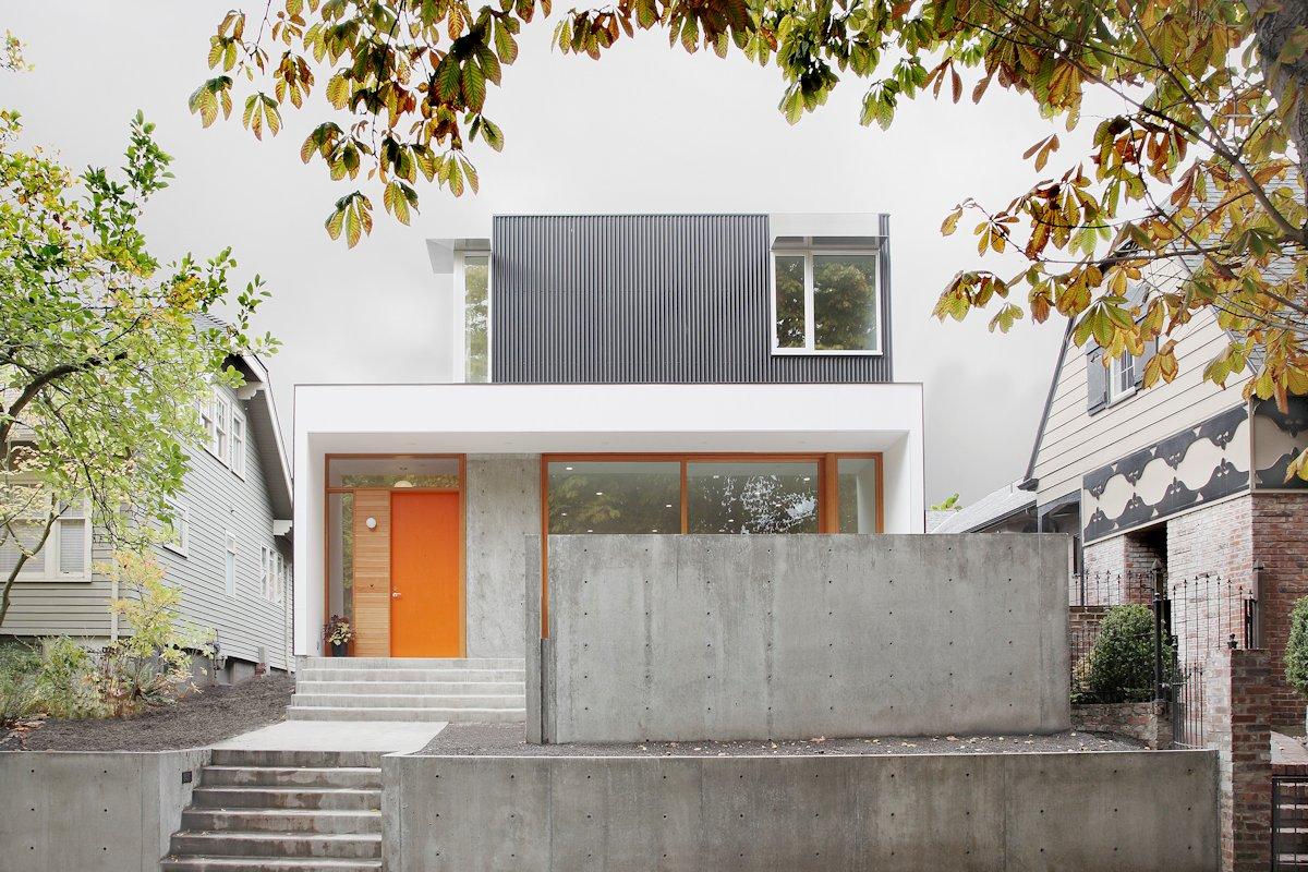 Planos de casa de dos pisos en terreno pequeo