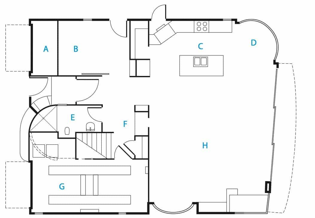 Diseo de casa de dos pisos 100 autosustentable con planos