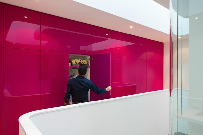 Diseo de interiores de casa pequea moderna iluminacin