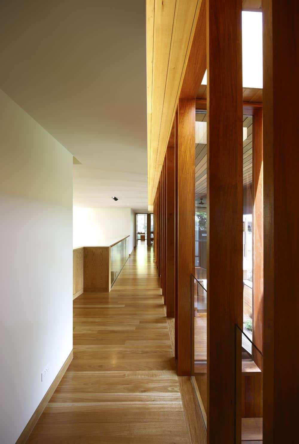Diseo de casa moderna de dos plantas fachada e interiores