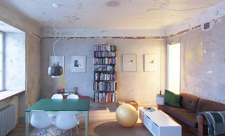Diseo de planos de apartamento pequeo de un dormitorio