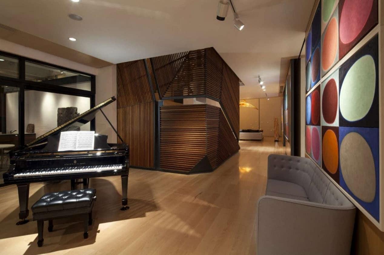 Diseo de departamento de dos pisos de lujo  Construye Hogar