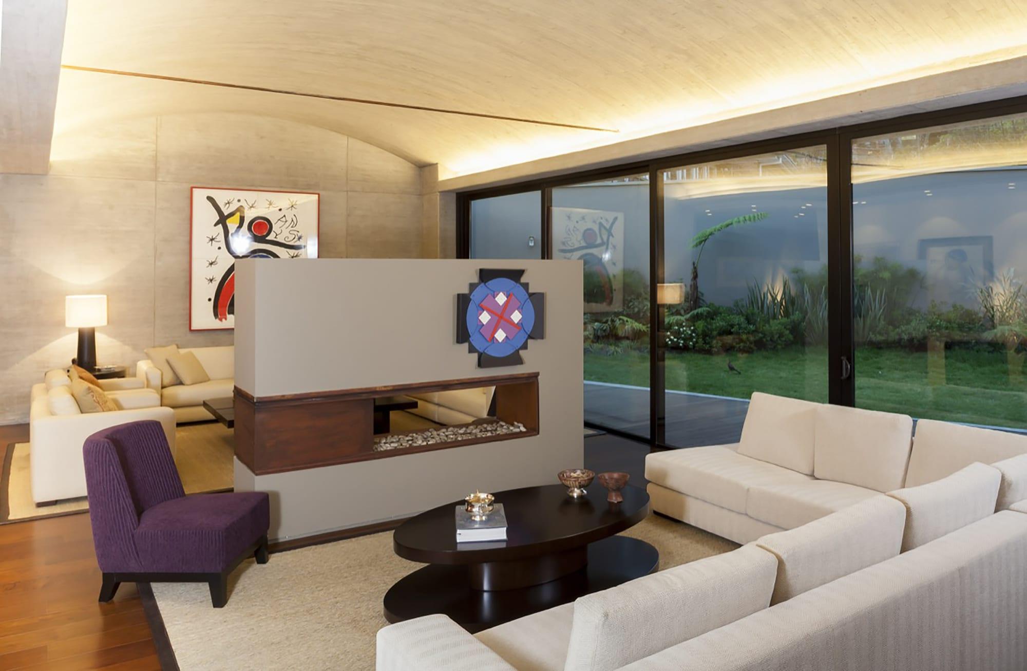 Moderno diseo casa de un piso con planos