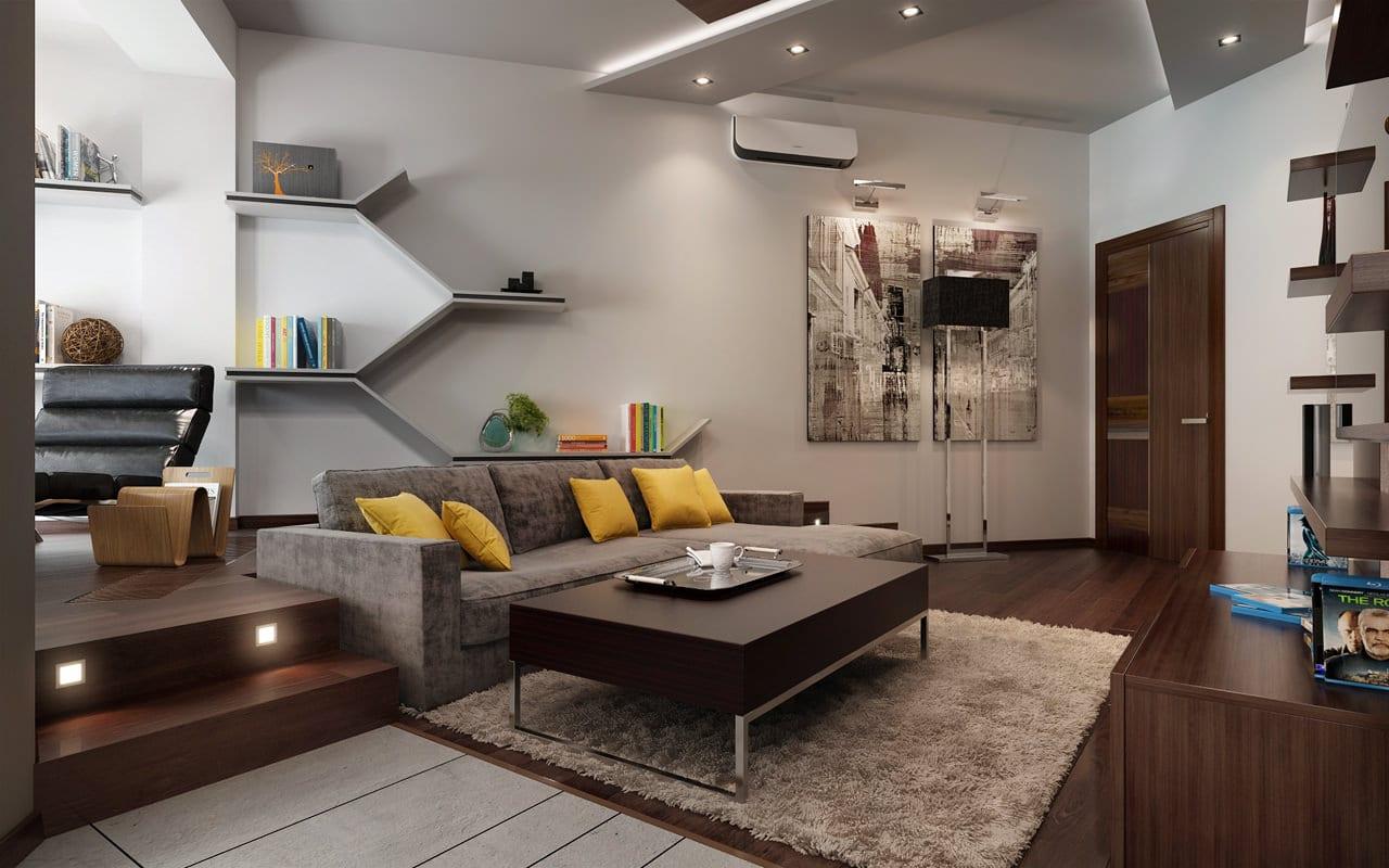 Decoracin de interiores modernos  CONSTRUYE HOGAR