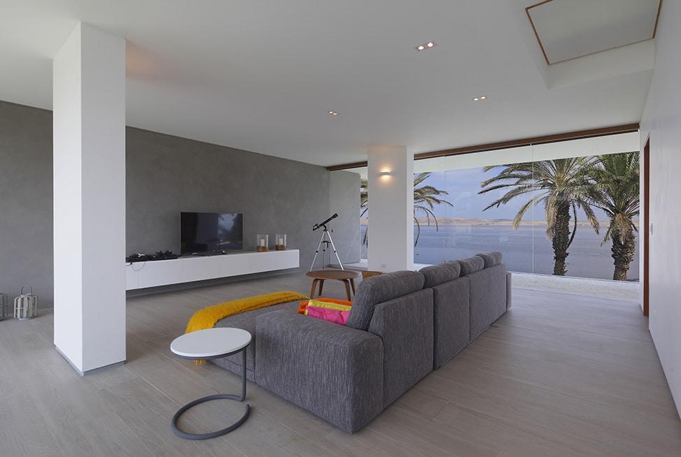 Fachadas de casa moderna de dos plantas