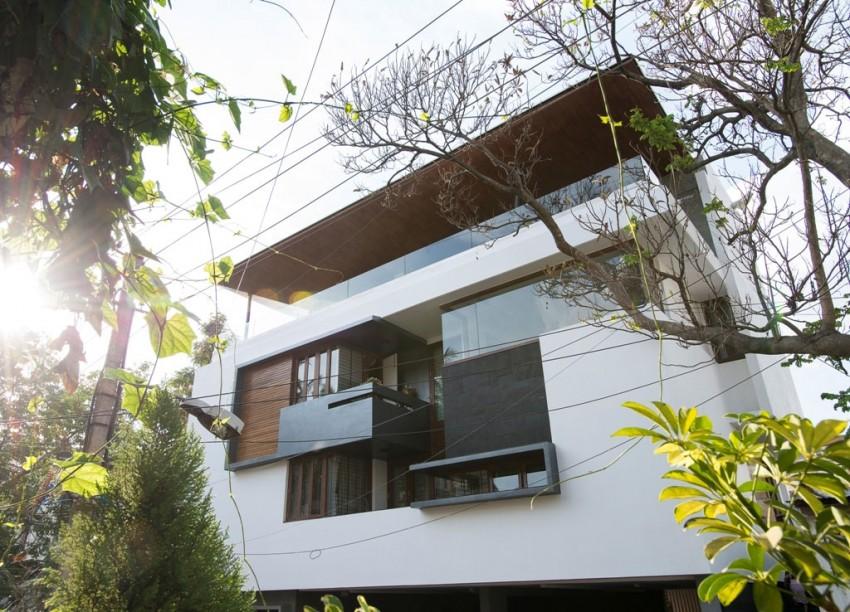 Diseo de planos de casa de tres pisos