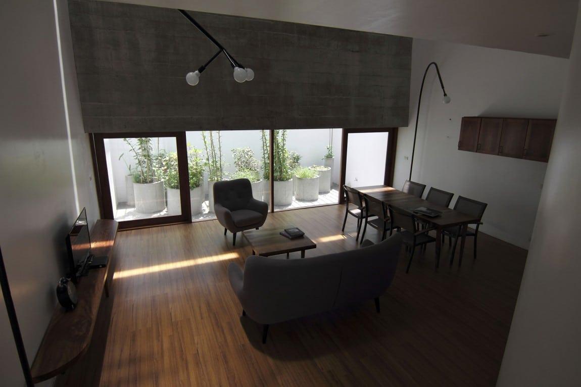 Planos de casa de tres plantas pequea