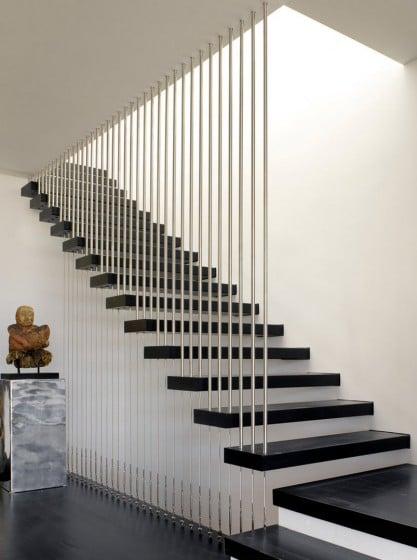 Escaleras Pisos Dos Disenos De Para De Casas
