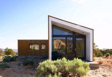 Simples Exterior De La Casa Moderna