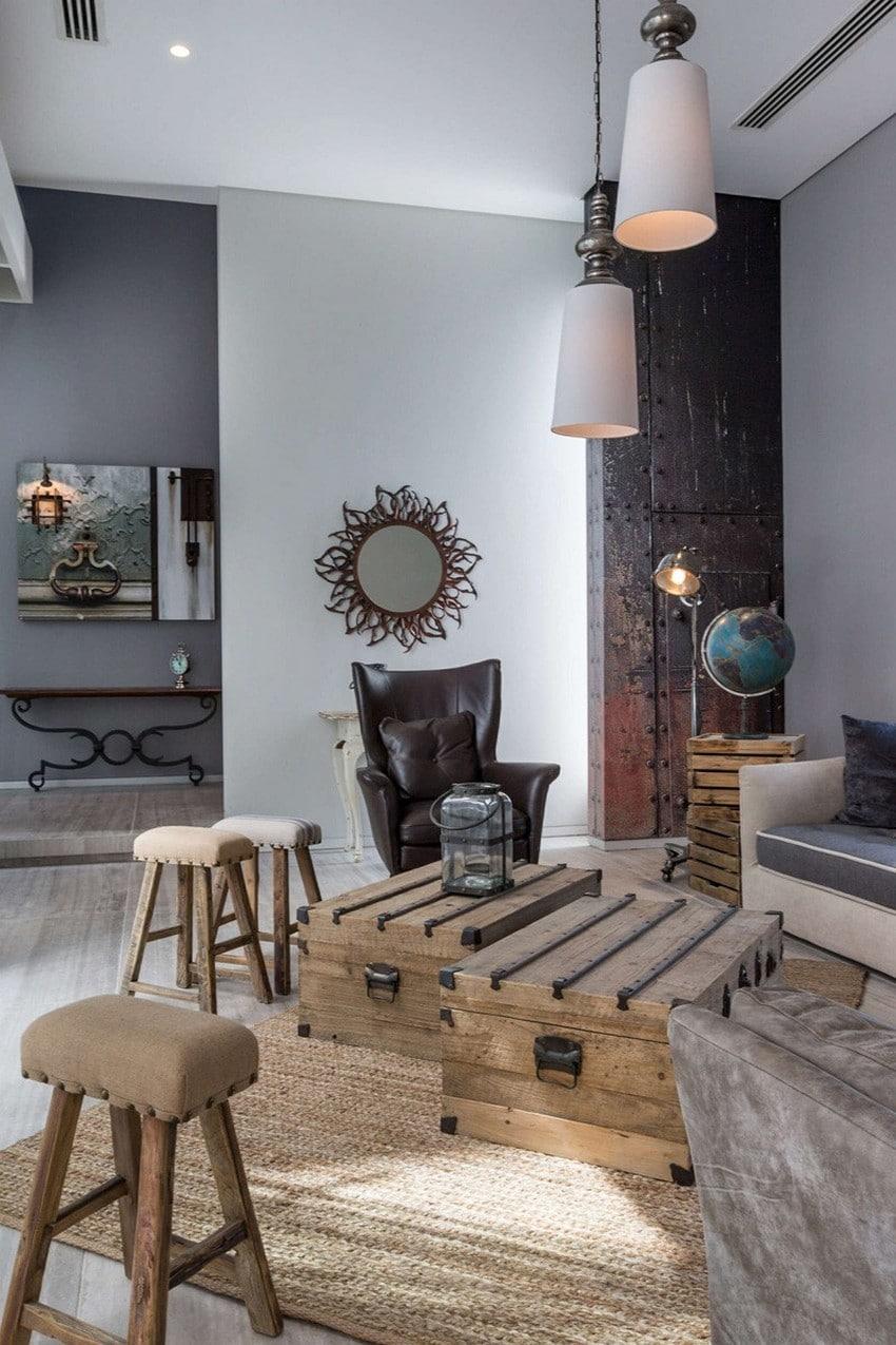 Planos de casa de tres pisos moderna