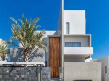 Planos de casa de tres pisos moderna   Construye Hogar