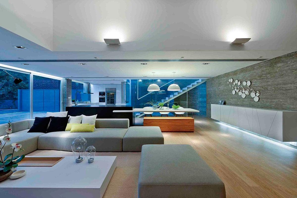 Diseo de casa moderna dos pisos