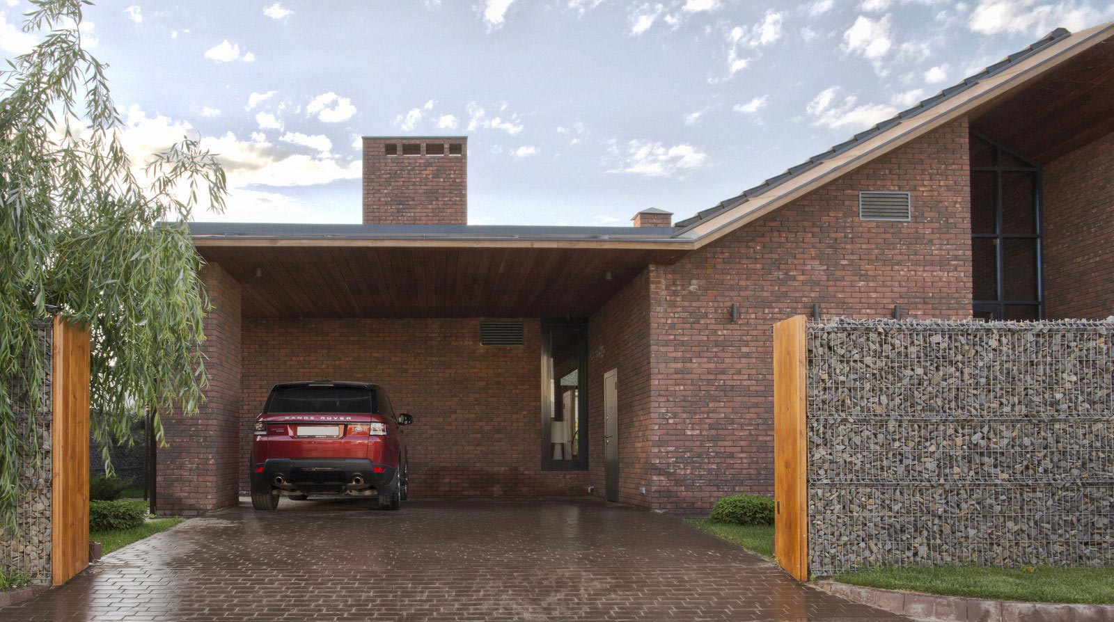 Casa de un piso de 390 metros cuadrados  Construye Hogar