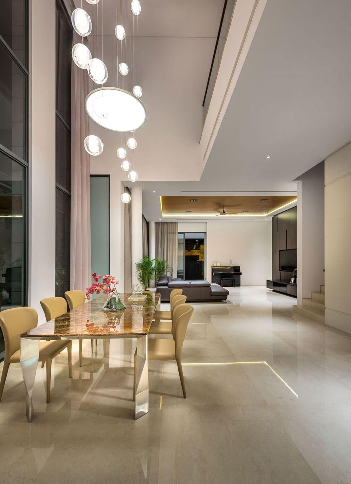 Diseo casa moderna tres pisos