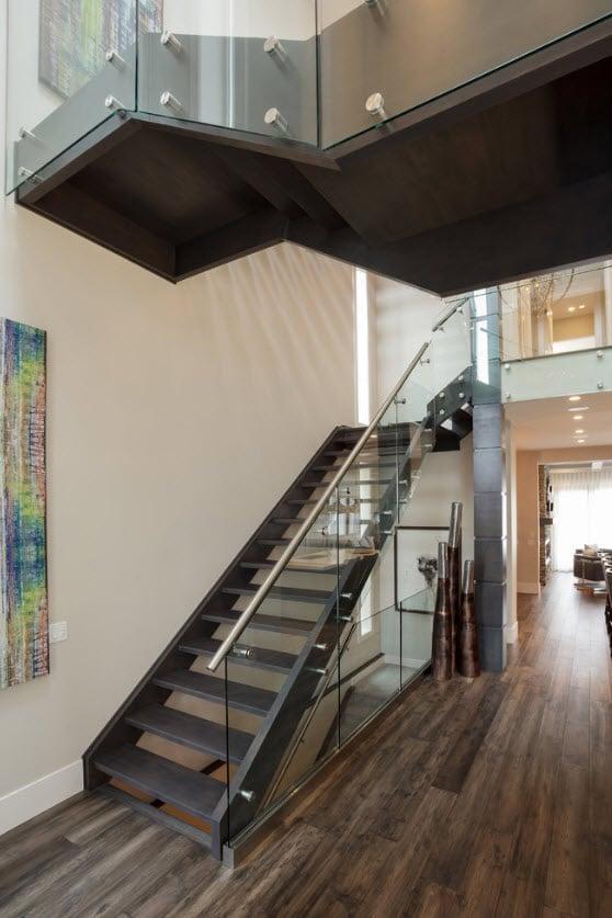 Fachadas de casas modernas de dos pisos  Construye Hogar