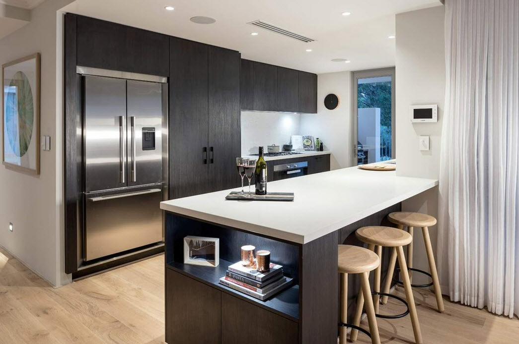 Diseo casa moderna dos pisos planos y fachadas