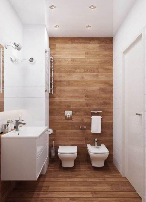 Diseo de cuartos de bao minimalistas