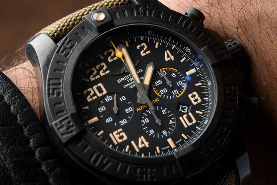 Watch Breitling Avenger Hurricane Military XB12101A / BF46 / 283S