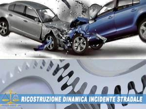 ingegnere forense perito assicurativo per svolgere tutte le fasi di ricostruzione dell'incidente.
