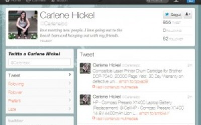 analisi dei profili spam nei social