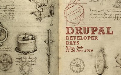 road to drupal developer days milan