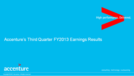ACN Q3 Earnings