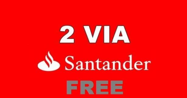 Como tirar 2ª via fatura cartão Santander Free Mastercard