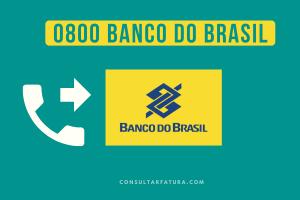 0800 Banco do Brasil