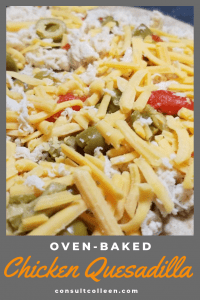 Oven Baked Chicken Quesadilla Easy Meal Healthy Dinner