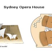 Opera House paper craft