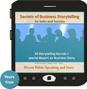 Secrets of Business Storytelling or sales and success - free
