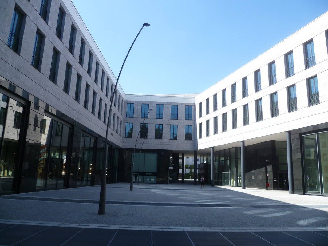 Our headquarters in Piazza Gianfranco Ferré