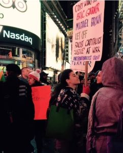Garner Verdict Times Square Protest