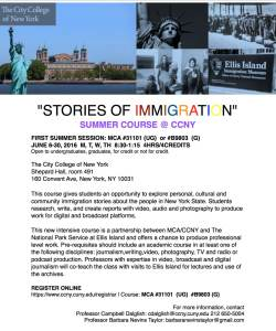 Stories of Immigration 2