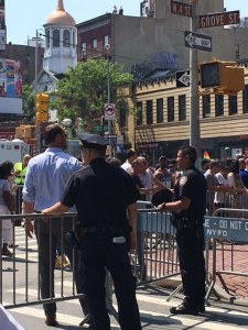 NYPD At Gay Pride Parade
