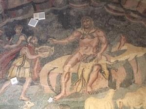 Cyclops Villa Romana del Casale, Sicily