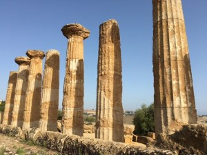 Temple of Hercules, Valley of The Temples, Agrigento, Sicily