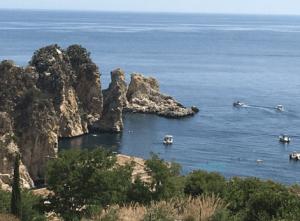 Beautiful View of Fragalioni Scopella Sicily