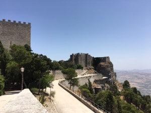 Castle of Venus at Erice Sicily