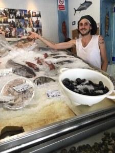 Cristiano Caricoli Chef, Le Pesceria, Palermo, Sicily
