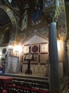 Rear Altar Palantine Chapel Palermo
