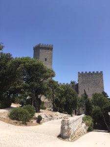 Walk to Castle Erice  Sicily
